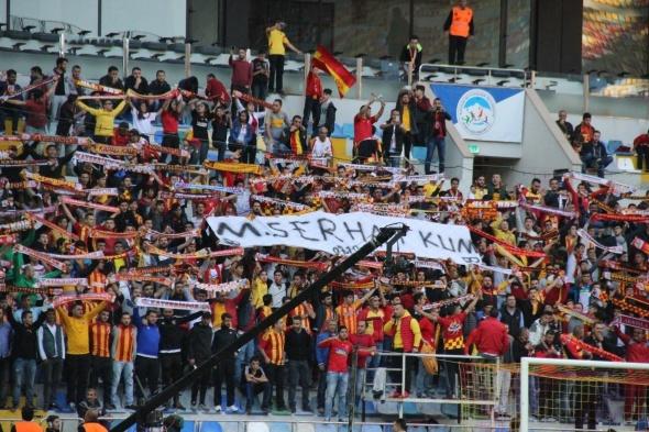 Kayserispor Beşiktaş maçından kareler