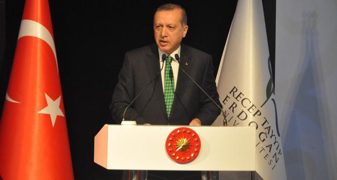 Erdoğan: 2016 yılında 1923ün psikolojisi ile hareket edemeyiz