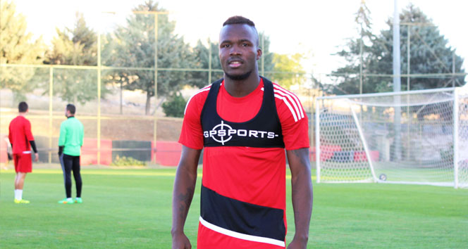 Muhammed Fatau: Kayserispor maçından galip geleceğiz