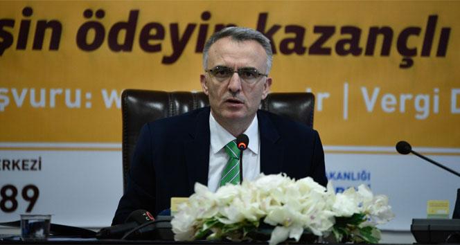 Bakan Ağbal, KDV iadesi ve vergi yapılandırması açıklaması