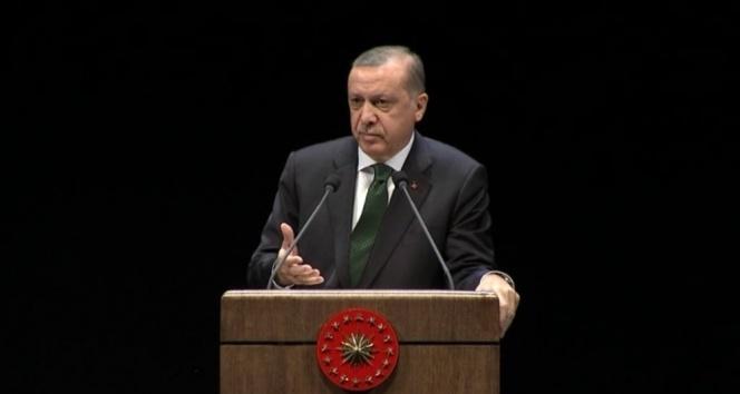 Cumhurbaşkanı Misak-ı Milliye işaret etti