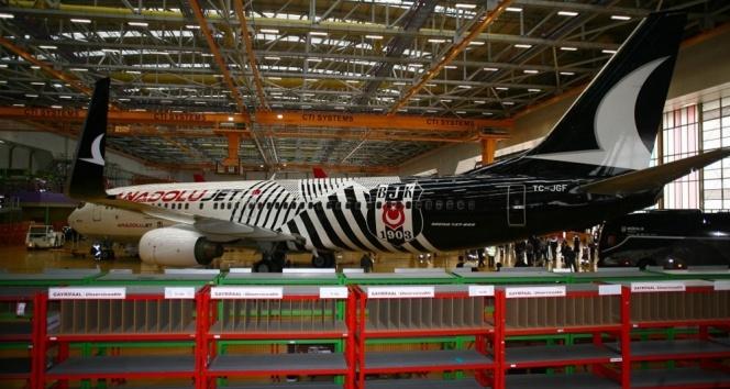 Türk Hava Yollarından Beşiktaşa özel uçak