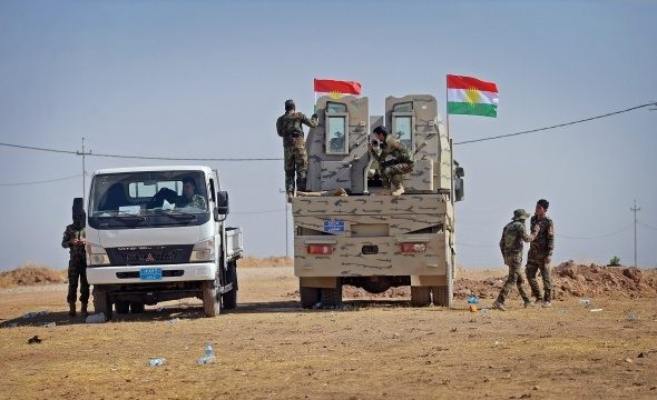 Peşmerge ve Irak güçleri ilerleme kaydediyor