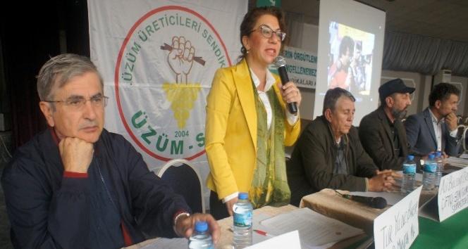 Üzüm üreticilerinin sorunları forumda ele alındı