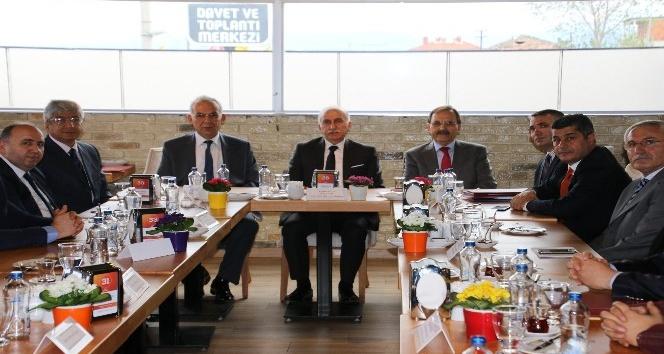 Bafra Karma ve Medikal OSB toplantısı