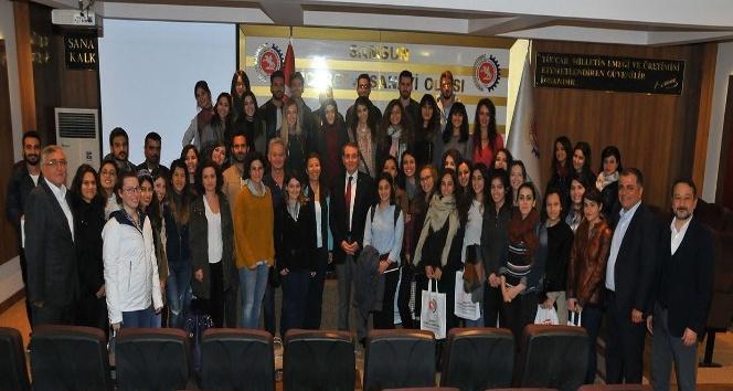 ODTÜ'lü şehir plancı adayları Samsun TSO'da