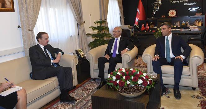 Kılıçdaroğlu, Fransa Büyükelçisi Fries ile görüştü