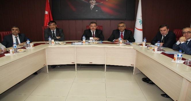 İl Sağlık Müdürlüğü 2016 Ekim aylık koordinasyon kurulu toplantısı yapıldı