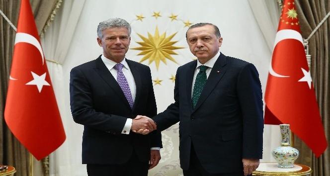 Cumhurbaşkanı Erdoğan, Lüksemburg Büyükelçisi'ni kabul etti