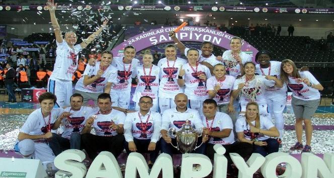 24. Kadınlar Cumhurbaşkanlığı Kupası Hatay Büyükşehir Belediyespor'un