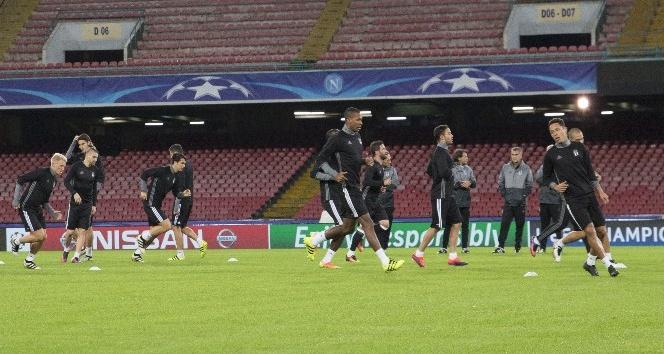 Beşiktaş, Napoli maçı hazırlıklarını tamamladı