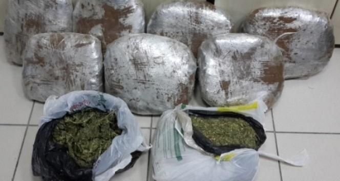 İzmirde uyuşturucu operasyonu: 8 gözaltı