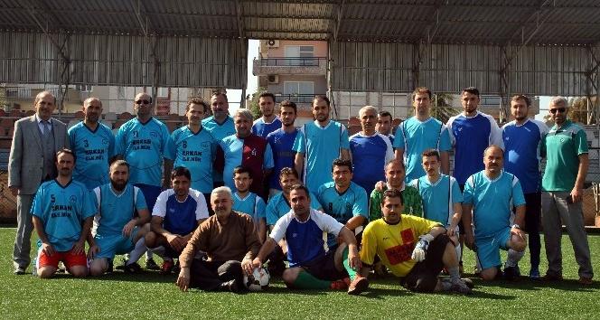 Din görevlilerinden  15 Temmuz Şehitleri anısına futbol turnuvası