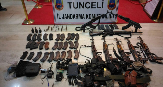 13 PKKlının öldürüldüğü operasyonda çok sayıda silah ele geçirildi