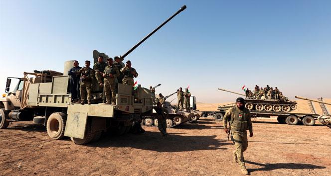 Irak ordusu ve Peşmerge güçleri Musula ilerliyor