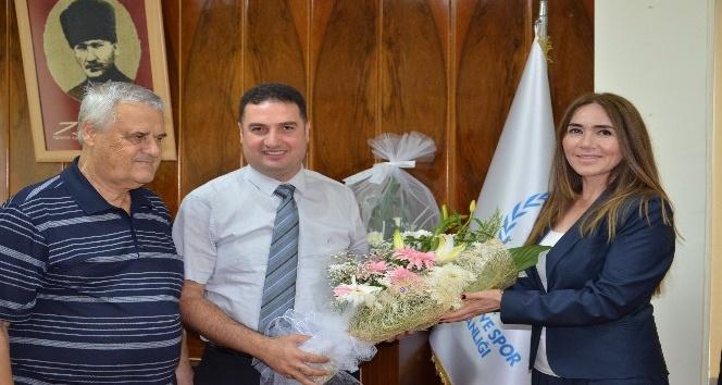 Futbol İl Hakem Kurulu Başkanı Ak, Ataşbak'ı ziyaret etti