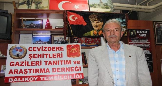 Şehit ve Gaziler Derneği'nden Balıköy Beldesi'ne temsilcilik
