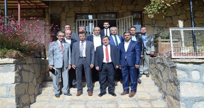 BEM-BİR-SEN'den Başkan Eser'e ziyaret