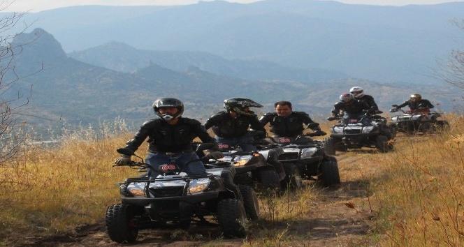 Eskişehir'de ATV safari turizmi için gaza basıldı