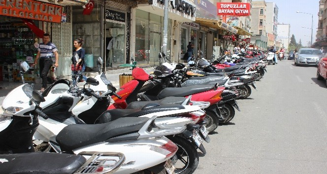 Kilis'te araçların yüzde 50'si motosiklet