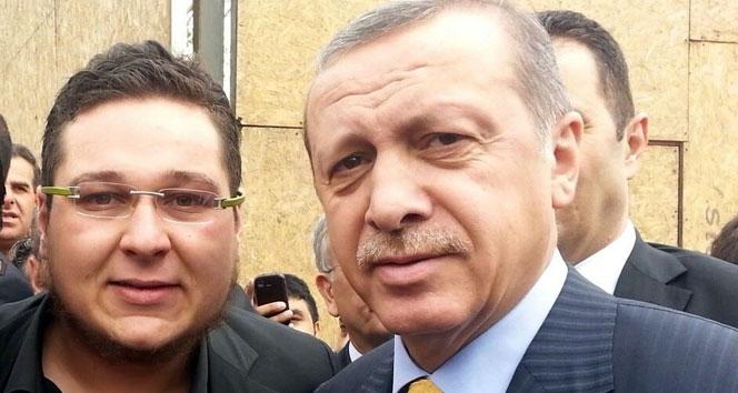 Hayranı olduğu Erdoğanın taklidini yaptı