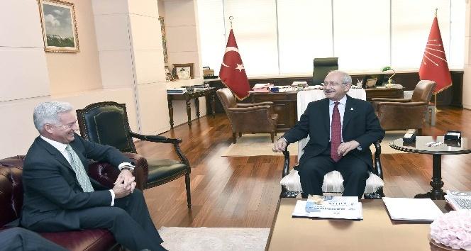 Kılıçdaroğlu, Birleşik Krallık Avrupa ve Amerika İşlerinden Sorumlu Bakanı Duncan ile görüştü