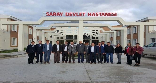 AK Parti İl Başkanı Yüksel'in ilçe ziyaretleri