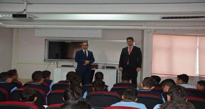 Kaymakam Ferhat Atar öğrencilerle buluştu