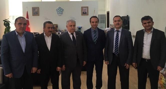 Seydişehir heyetinden Rektör Şeker'e ziyaret
