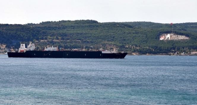 Çanakkale boğaz girişinde gemi kazası
