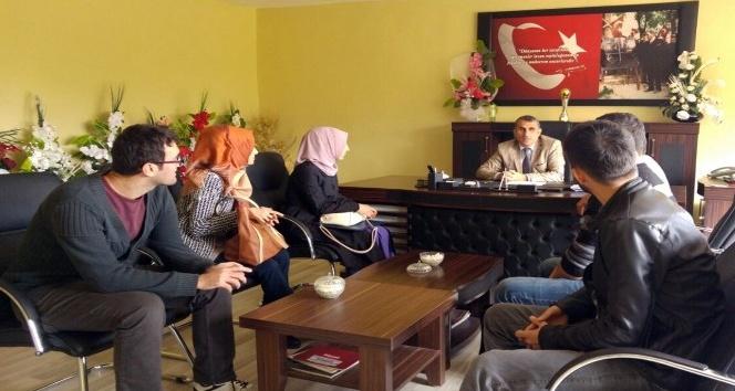 Adilcevaz'a atanan 67 sözleşmeli öğretmen göreve başladı