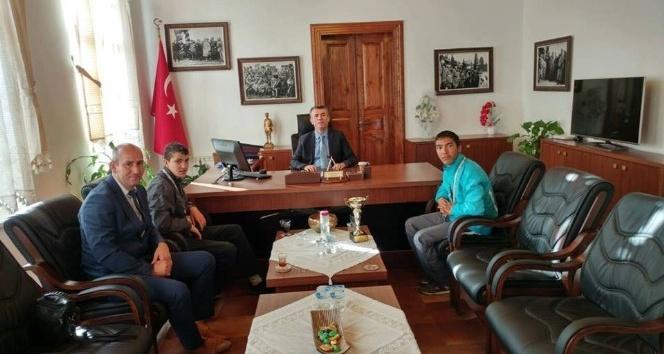 Özel sporcular, Sırmalı'yı ziyaret etti