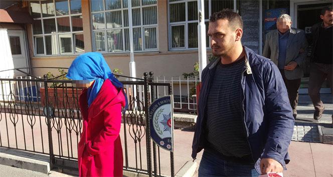 Baba, oğlu ve gelini uyuşturucudan gözaltına alındı