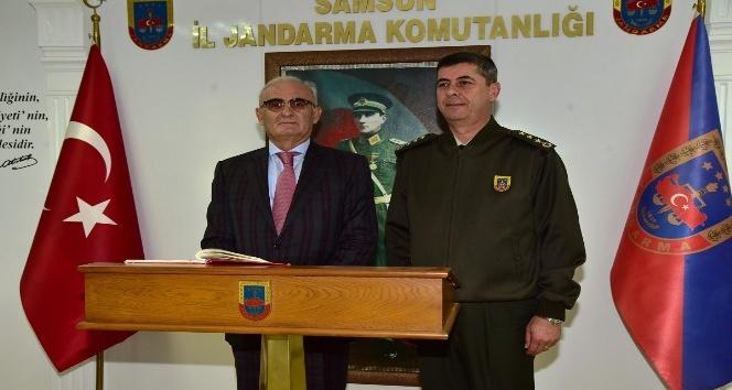 Başkan Yılmaz'dan komutana iadeyi ziyaret