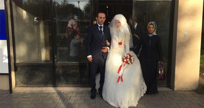 KPSSden çıktı nikahına yetişti