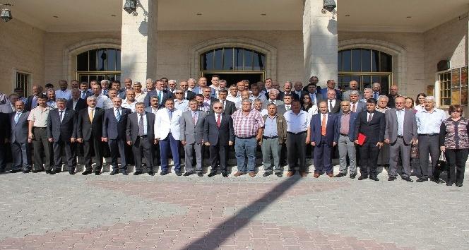 Mersin'de Muhtarlar Günü törenle kutlandı