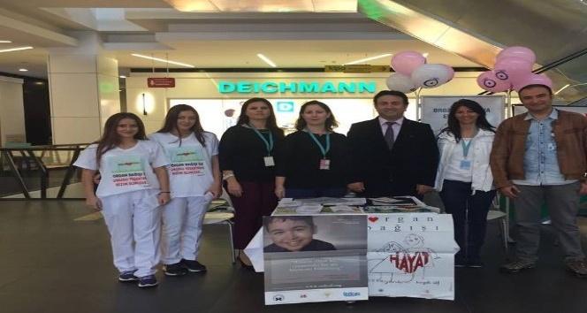 Biga'da organ bağışı standı açıldı