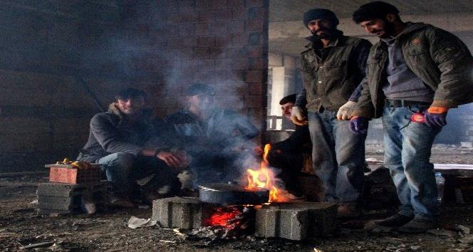 Beyaza bürünen Doğu Anadolu'da hava sıcaklığı sıfırın altına düştü