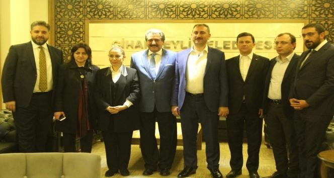 Cihanbeyli'ye AK Parti Genel Merkezi ve Cumhurbaşkanı Başdanışmanlarından ziyaret