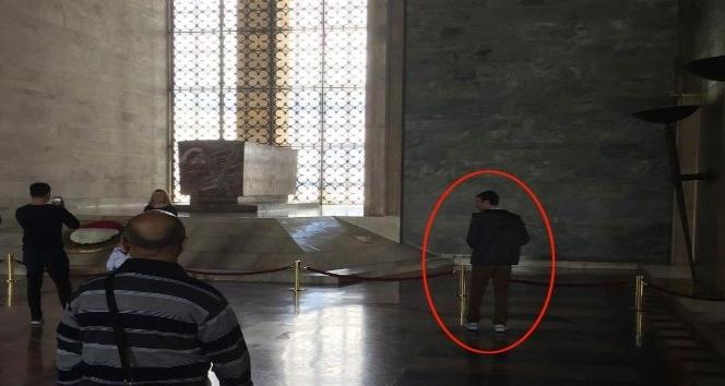 Eylem hazırlığındaki canlı bombanın Anıtkabir'deki görüntüleri ortaya çıktı