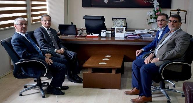 Vali Tapsız'dan İl Genel Meclis Başkanı Güngörer'e iadey-i ziyaret