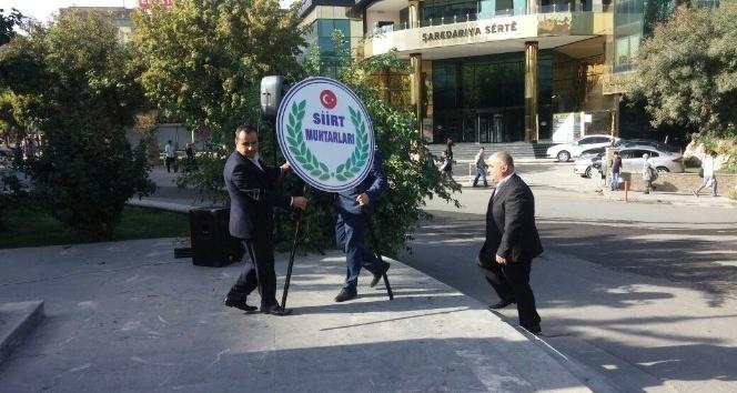Siirt'te 'Muhtarlar Günü' kutlandı