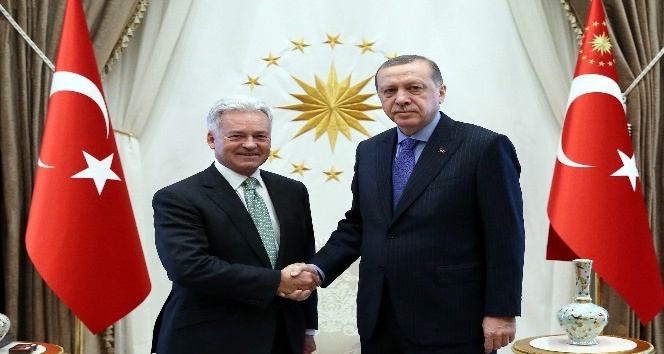 Cumhurbaşkanı Erdoğan, Birleşik Krallık Devlet Bakanı Duncan'ı kabul etti