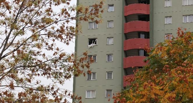 Canlı bombanın kaldığı apartmandaki vatandaşlar olay anını anlattı