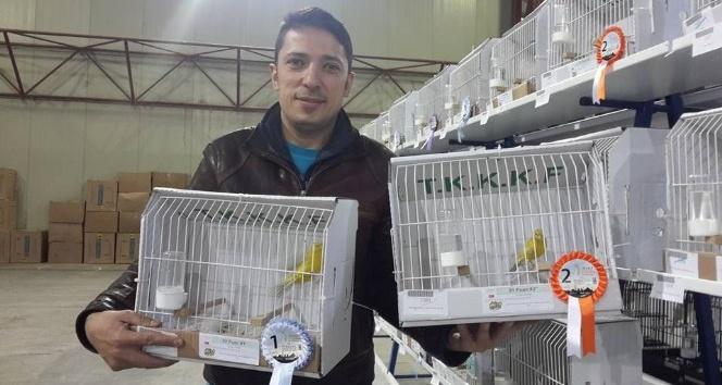 Zonguldak Kuş Üreticileri Derneği, Kocaeli'den madalya ile döndü