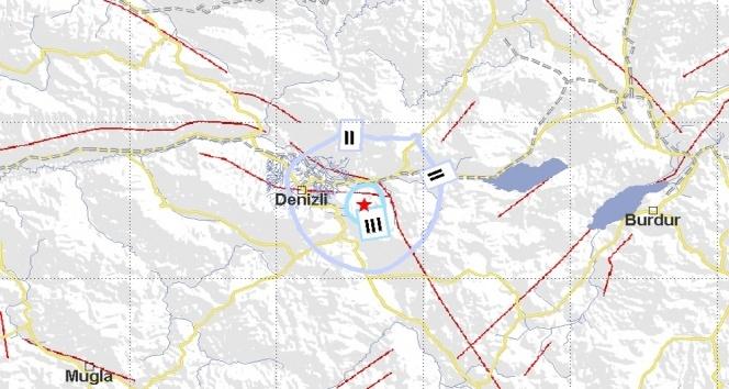 Denizlide 3.5 büyüklüğünde deprem