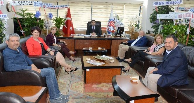 GESİFED'tan Başkan Erdoğan'a ziyaret