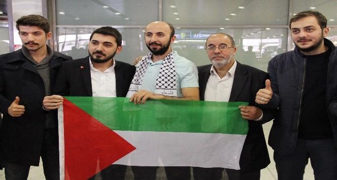 İsrail'de 21 gün gözaltında kalan Orhan Buyruk İstanbul'a döndü