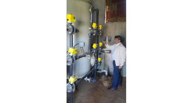 Salihli'deki içme suyu arıtma tesisleri denetlendi