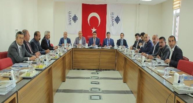 Bingöl ve Tunceli belediyeleri, İller Bankası ile istişare toplantısı yaptı
